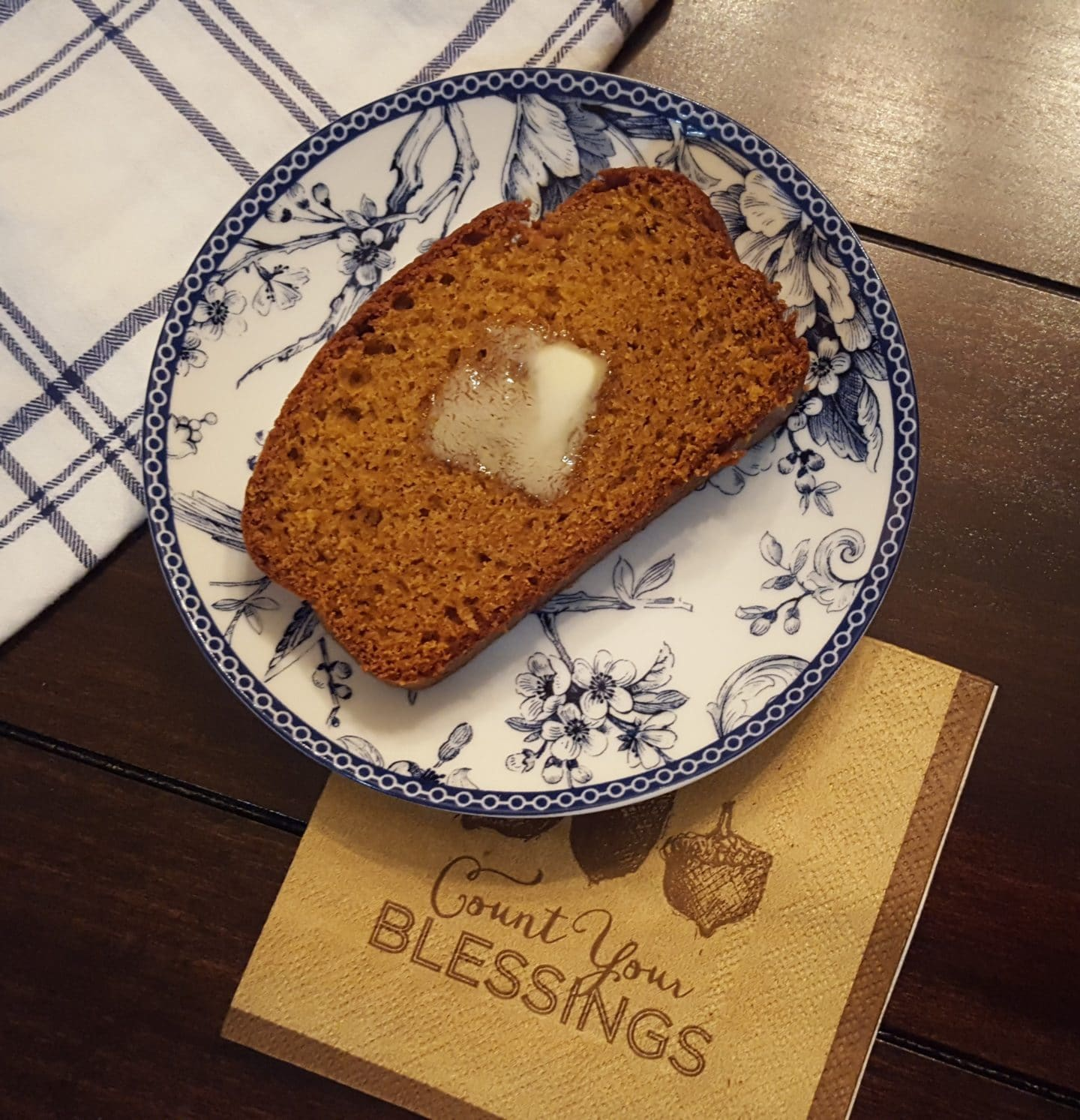 Hi There Pumpkin! (pumpkin bread recipe)